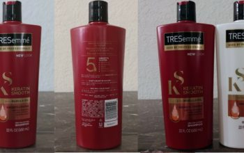 My Review: Tresemme Keratin Smooth Shampoo
