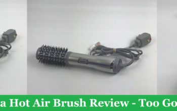 My John Frieda Hot Air Brush Review - Too Good To Be True?