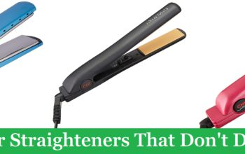 (Best 7) Hair Straighteners That Don't Damage Hair