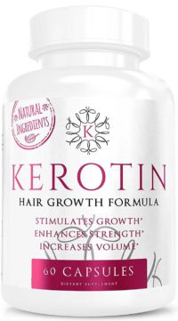 My Review: Kerotin Hair Growth Formula - Does It Work?