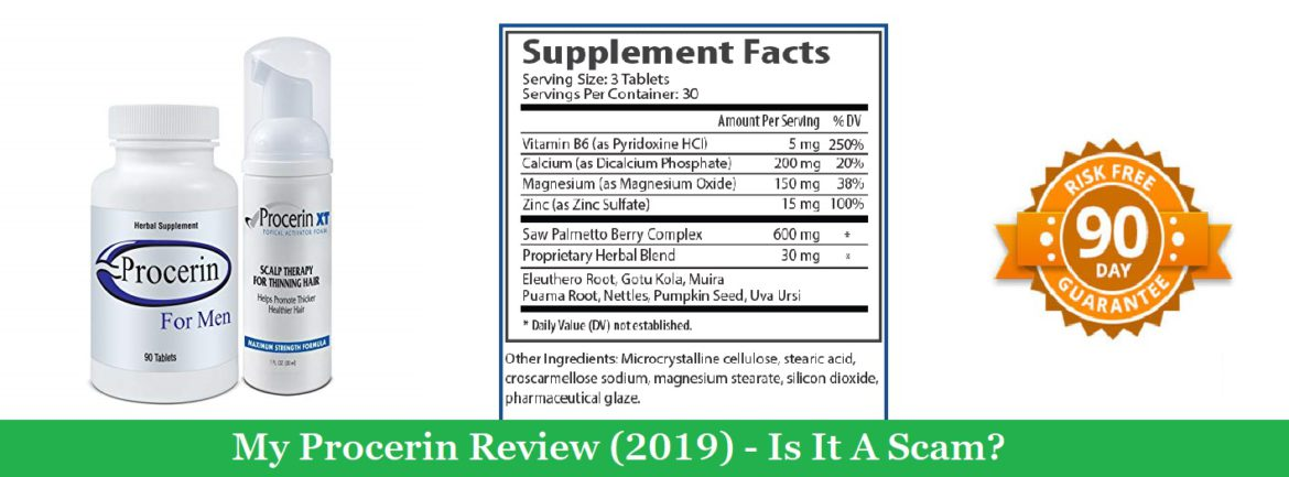 My Procerin Review (2019) – Is It A Scam?
