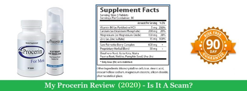 My Procerin Review (2020) – Is It A Scam?