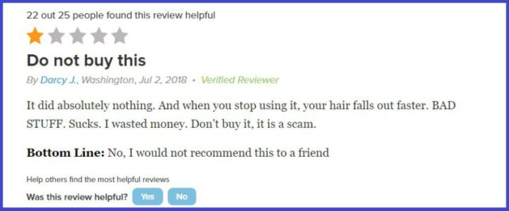 My Review Juvetress Revitalizing Hair Therapy Scam Or