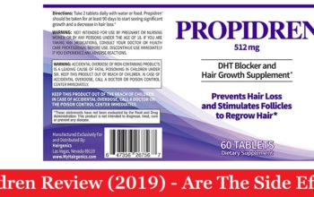 My Propidren Review (2019) - Are The Side Effects Real?