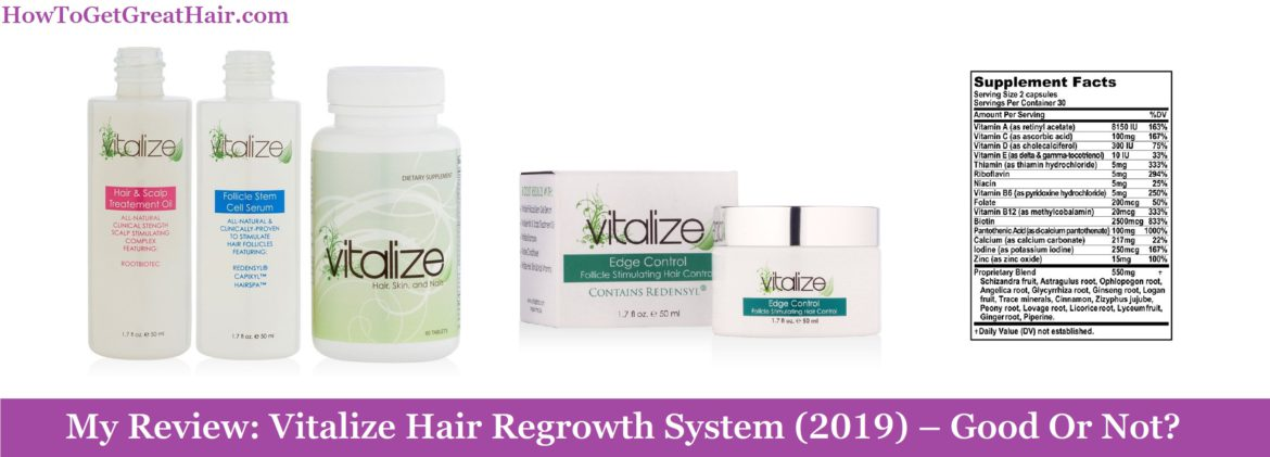 My Review: Vitalize Hair Regrowth System (2020) – Good Or Not?