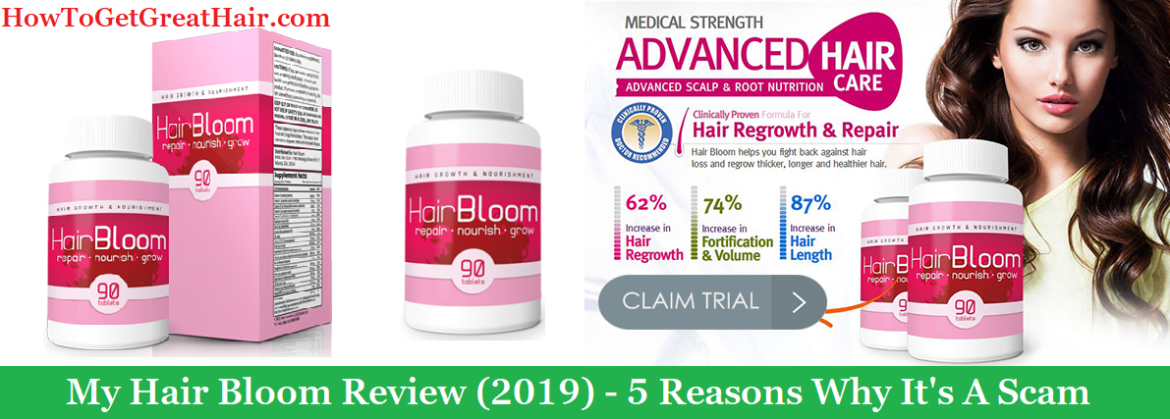 My Hair Bloom Review (2019) - 5 Reasons Why It's A Scam