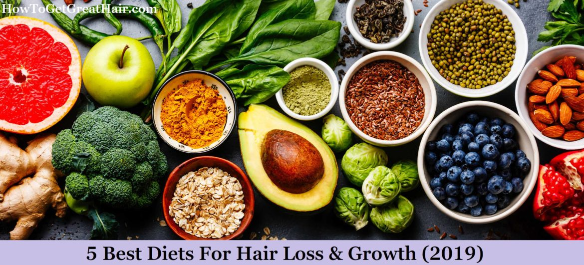 5 Best Diets For Hair Loss & Growth (2021)
