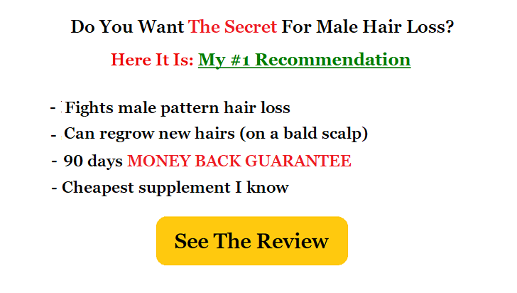 best male hairloss supplement