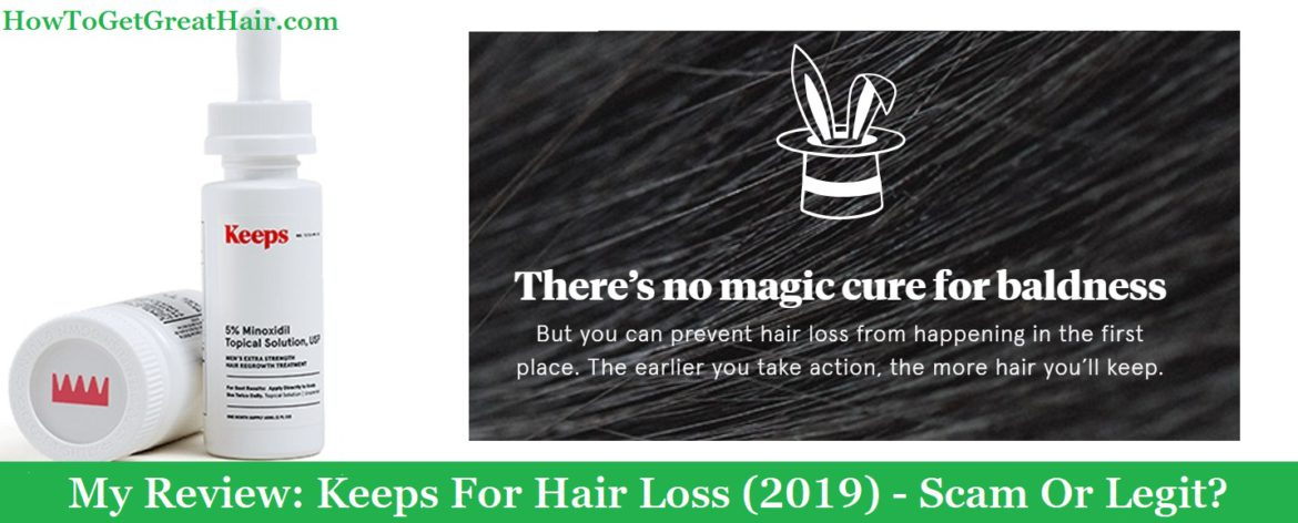 My Review: Keeps For Hair Loss (2020) – Scam Or Legit?