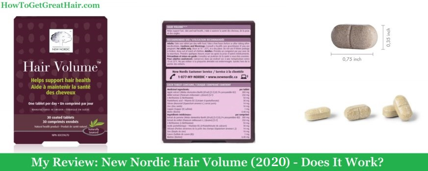 My Review: New Nordic Hair Volume (2020) – Does It Work?