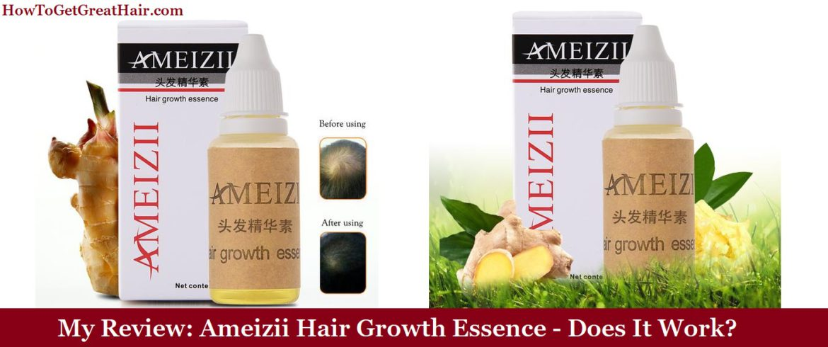 My Review: Ameizii Hair Growth Essence (2021) – Does It Work?