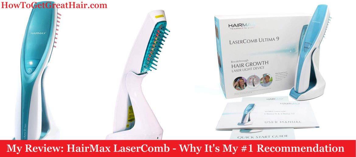 My Review: HairMax LaserComb (2020) – My #1 Recommended Laser Device