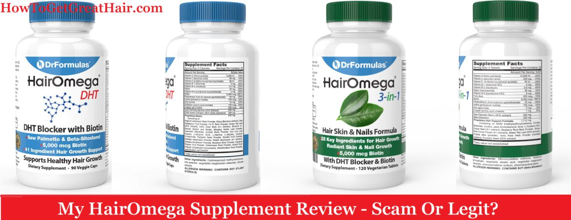 My HairOmega Supplement Review (2021) – Scam Or Legit?