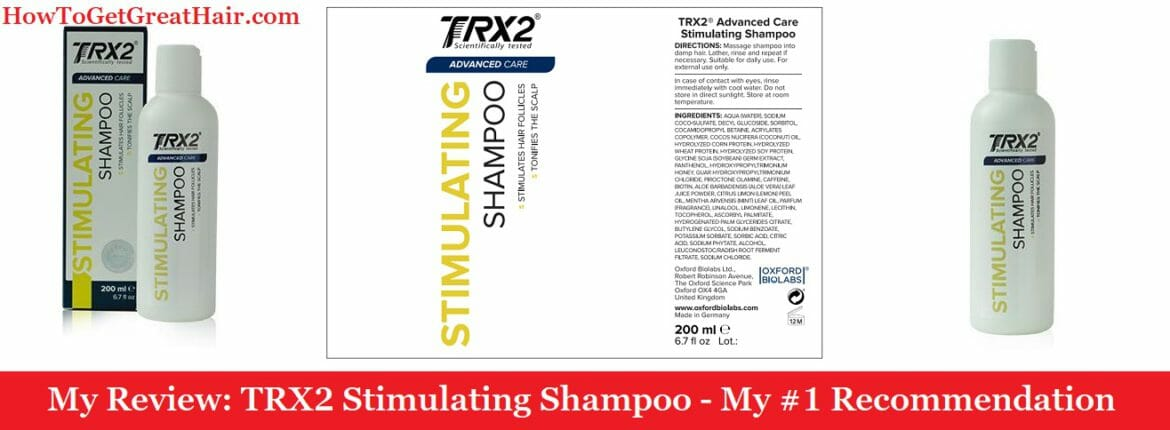 My Review: TRX2 Stimulating Shampoo (2020) – My #1 Recommendation