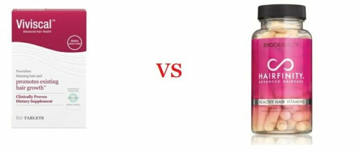 Viviscal VS Hairfinity (2020 Review) - Which Is The #1?