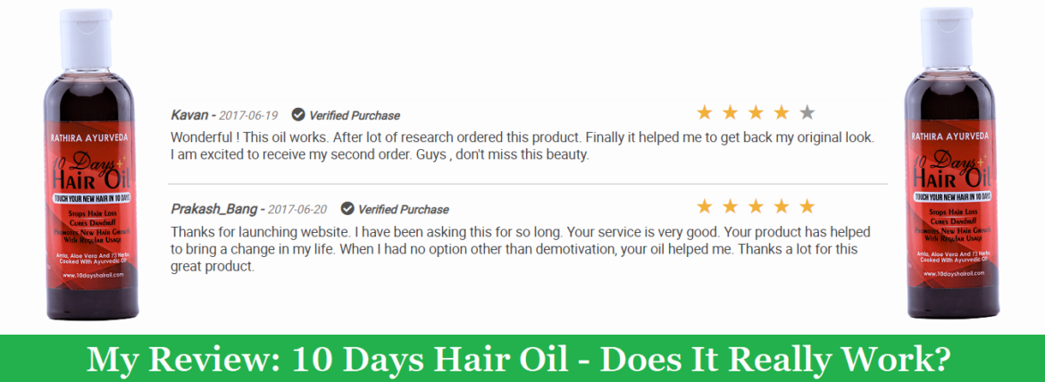 My Review: 10 Days Hair Oil (2021) – Does It Really Work?