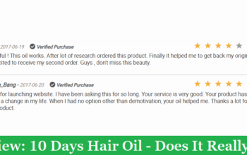 My Review: 10 Days Hair Oil - Does It Really Work?