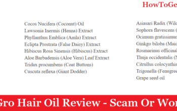 My Gro Hair Oil Review (2020) - Scam Or Works?